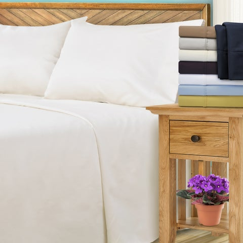 Superior 1000 Thread Count Cotton Blend Pillowcases (Set of 2)