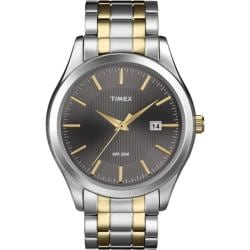 Timex Men's T2N799 Elevated Classics Dress Stainless Steel Bracelet Watch