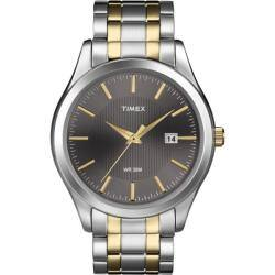 Timex Men's T2N799 Elevated Classics Dress Stainless Steel Bracelet Watch|https://ak1.ostkcdn.com/images/products/6622341/79/316/Timex-Mens-T2N799-Elevated-Classics-Dress-Stainless-Steel-Bracelet-Watch-P14189424.jpg?impolicy=medium