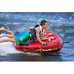 Rave Sports Prowler Three-person Deck-style Towable Tube with Cover - Thumbnail 2