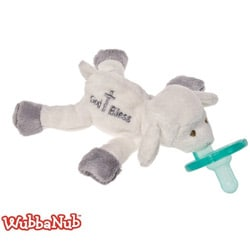 WubbaNub God Bless Lamb Pacifier