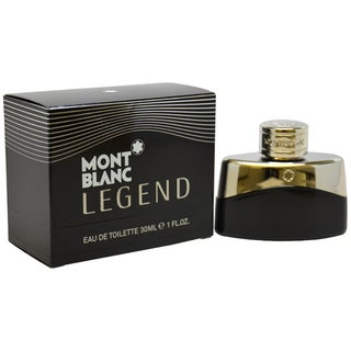 Mont Blanc Legend Men's 1-ounce Eau de Toilette Spray