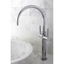 Shop Vessel Sink 18.75 inch Chrome Bathroom Faucet   Overstock