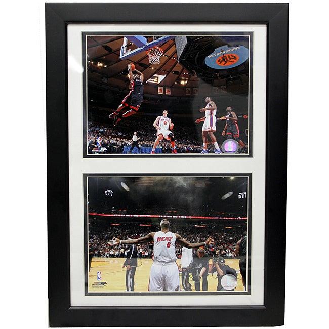 Miami Heat LeBron James Double Photo Frame