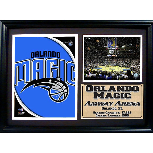 Orlando Magic Photo / Logo Stat Frame
