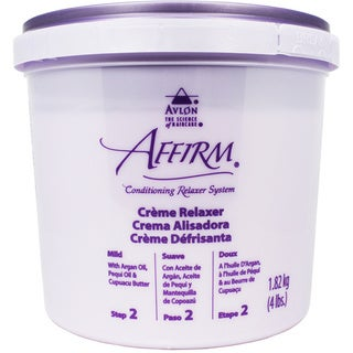 Avlon Affirm Conditioning Creme 4 lb. Mild Hair Relaxer