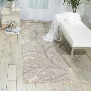 Nourison Utopia Ivory Abstract Rug (2'3 x 8')