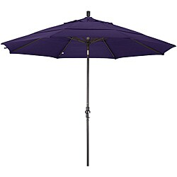 11' Rd Fiberglass ,Collar Tilt, Dbl Wind Vent, Bronze Finish - Purple