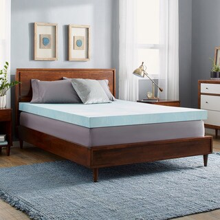 Slumber Solutions 4-inch Gel Memory Foam Mattress Topper