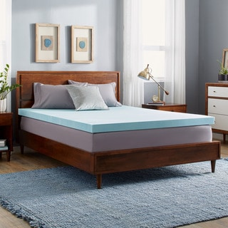 Slumber Solutions Gel 3-inch Memory Foam Mattress Topper