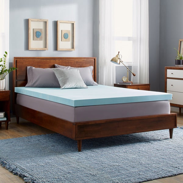OSleep Gel Memory Foam Mattress Topper - Multiple Thickness Options