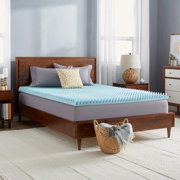 Shop Slumber Solutions Gel Highloft 3 Inch Memory Foam