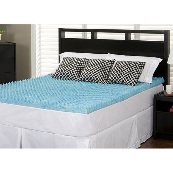 Slumber Solutions Gel Highloft 3-inch Queen/ King/ Cal King-size Memory Foam Mattress Topper