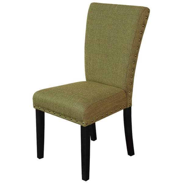 Monsoon Adorno Upholstered Basil Linen Dining Chairs (Set of 2)