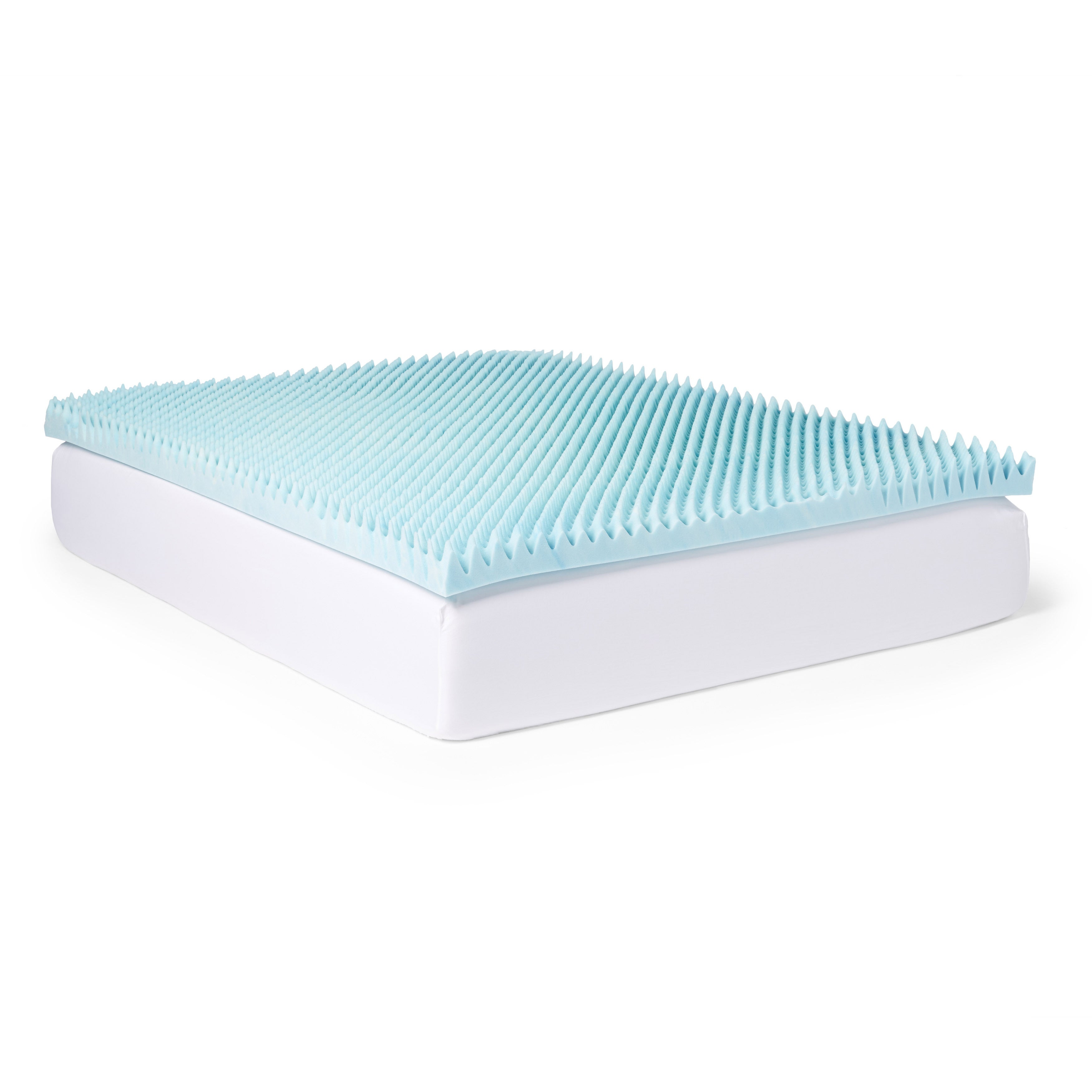 cover costco mattress evencor memory foam gel cooling gelplus topper with products novaform