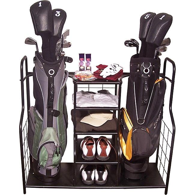 Metal Golf Bag Organizer