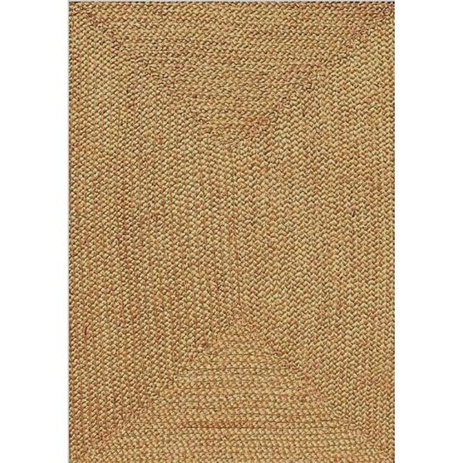 Braided Jute Runner Rug (2'6x 8')