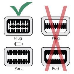 INSTEN 5-inch White Mini DVI to DB15 M/ F Cable - Thumbnail 2