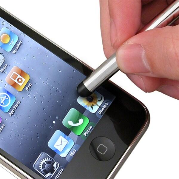INSTEN Silver Universal Touchscreen Four-Inch Stylus