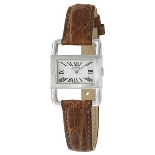 Coach Bridle Women's Silver Dial Leather Watch