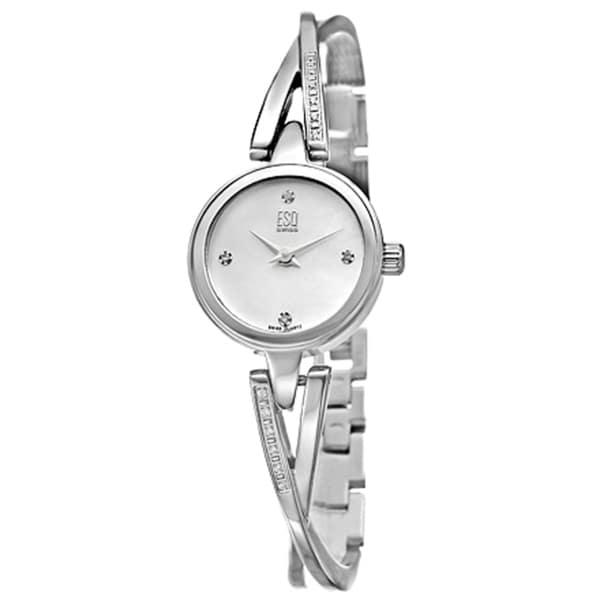 ESQ by Movado Women's Sienna Stainless Steel/ Diamonds Watch