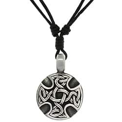 Carolina Glamour Collection Pewter Unisex Celtic Medallion Adjustable Cord Necklace https://ak1.ostkcdn.com/images/products/6624485/CGC-Pewter-Unisex-Celtic-Medallion-Adjustable-Cord-Necklace-P14191125.jpg?impolicy=medium