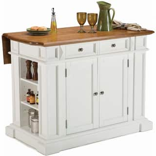 White Distressed Oak Kitchen Island by Home Styles|https://ak1.ostkcdn.com/images/products/6624507/6624507/White-Distressed-Oak-Kitchen-Island-P14191135.jpg?impolicy=medium