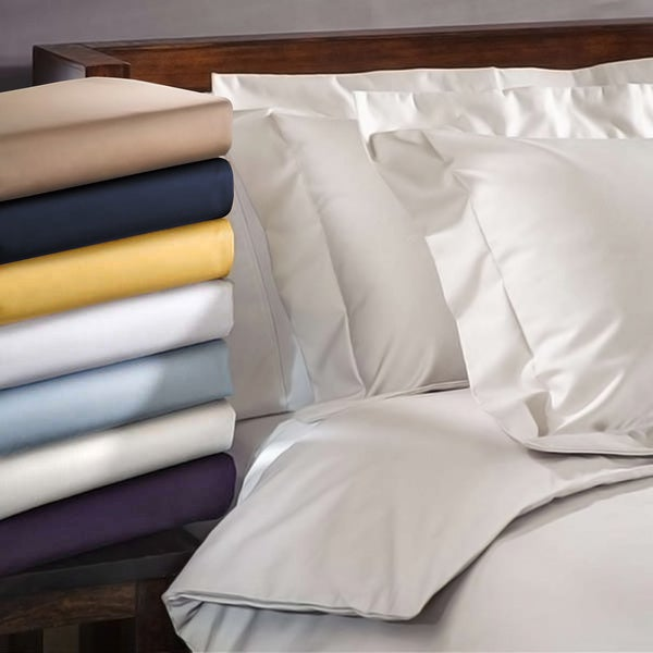 Superior Oversized 1000 Thread Count Olympic Queen Deep Pocket Wrinkle-resistant Sheet Set