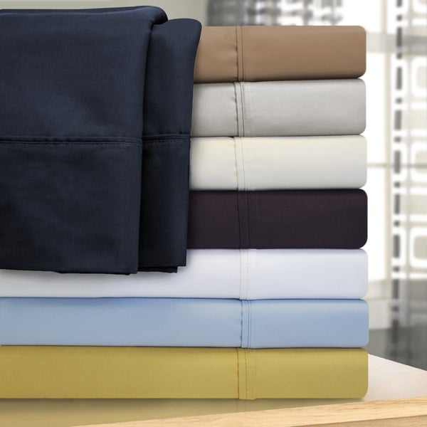 Superieur Superior Oversized 1000 Thread Count Olympic Queen Cotton Blend Sheet Set