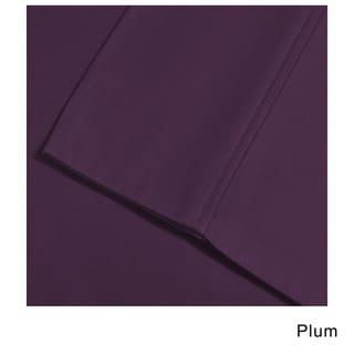 Superior Oversized 1000 Thread Count Cotton Blend Split King Deep Pocket Wrinkle-resistant Solid Sheet Set