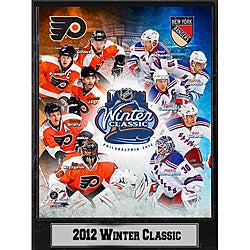NHL 2012 Winter Classic Plaque