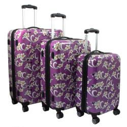 Purple, Floral Luggage - Shop The Best Deals For Apr 2017
