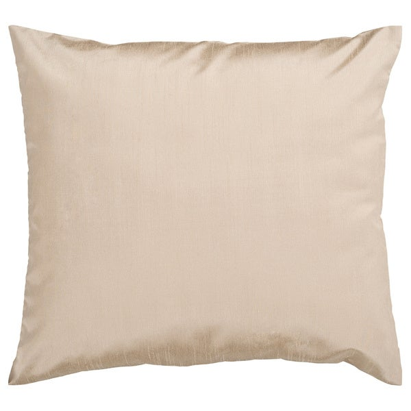 Decorative Chic Removable Cover 18-inch Square Solid Throw Pillow - Free Shipping On Orders Over ...