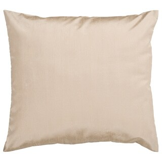 Decorative Chic Removable Cover 18-inch Square Solid Throw Pillow (More options available)