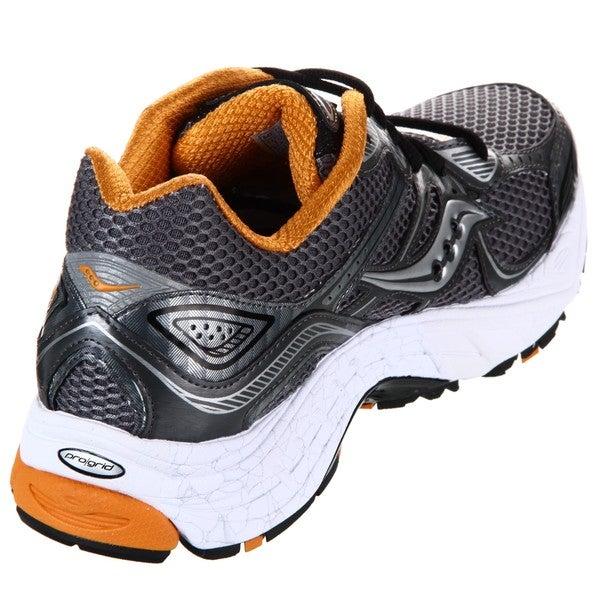 Grey/Orange Running Shoes - Overstock