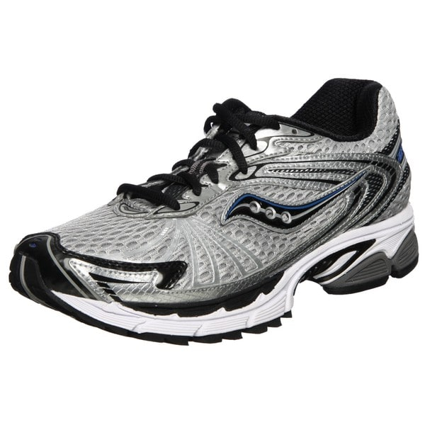 Saucony Men's 'Progrid Ride 4' Silver/ Black/ Royal Running Shoes