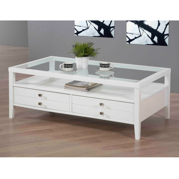 Aristo Gloss White Coffee Table