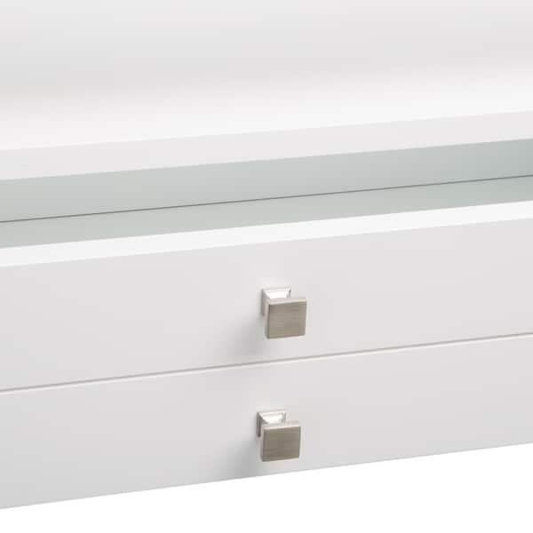 Astonishing Shop Strick Bolton Aristo Gloss White Sofa Table Free Short Links Chair Design For Home Short Linksinfo