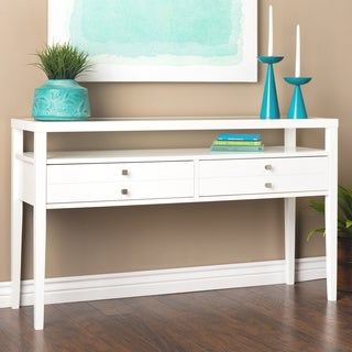 Aristo Gloss White Sofa Table
