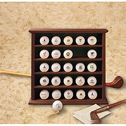 Clubhouse Collection 25-ball Display Cabinet