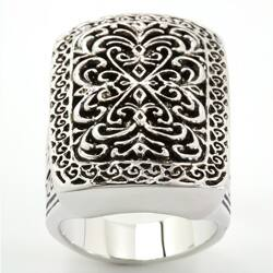 City by City City Style Silvertone Antiqued Filigree Ring https://ak1.ostkcdn.com/images/products/6625005/City-Style-Silvertone-Antiqued-Filigree-Ring-P14191502c.jpg?impolicy=medium
