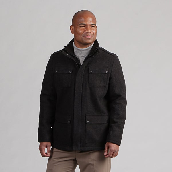 Calvin Klein Men's Wool 4-pocket Jacket