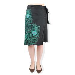 Handmade Peacock Wrap Around Skirt (Nepal) - Thumbnail 2
