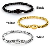 Stainless Steel Hollow Bubble Chain Bracelet