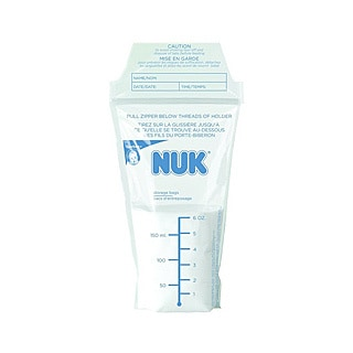 NUK Seal 'n Go Breast Milk Storage Bags (Pack of 50)
