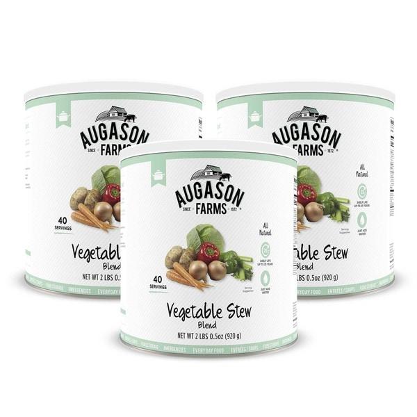 Augason Farms Vegetable Stew Blend 32 oz. #10 Can