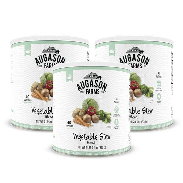Augason Farms Vegetable Stew Blend 2 lbs .5 oz No. 10 Can