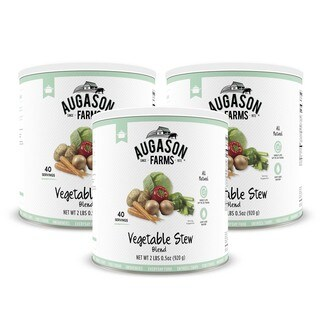 Augason Farms Vegetable Stew Blend 2 lbs .5 oz No. 10 Can (2 options available)
