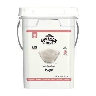 Augason Farms Granulated White Sugar Pail
