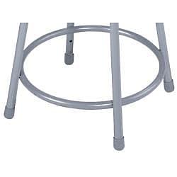 NPS Height Adjustable Stool with Round Hardboard Seat